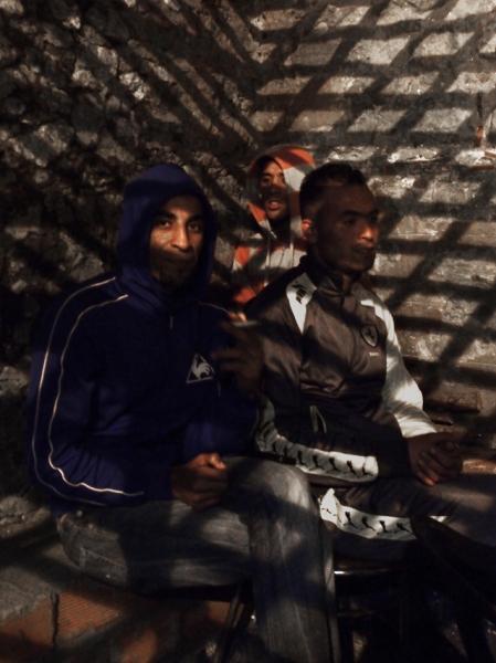 Reda, Mustapha et Rachid, Asilah